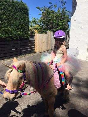 Isla And Cam Unicorn